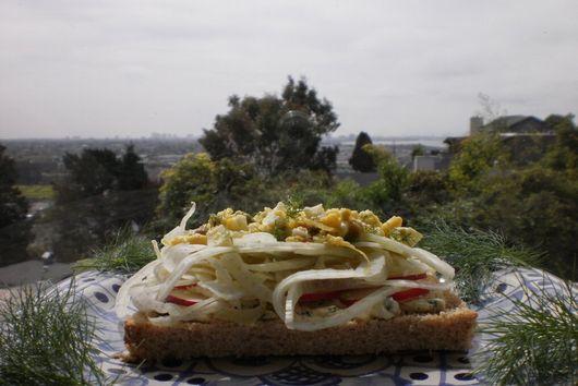 Spring Fennel Sandwiches