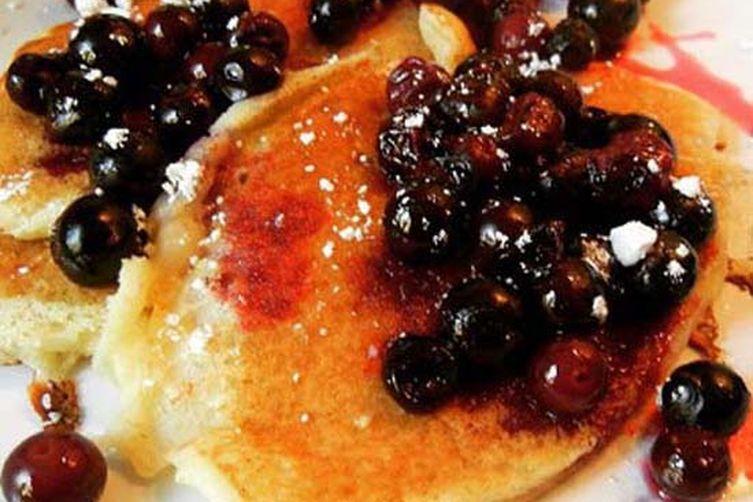 Brown Rice Pancakes With Juniper Berries