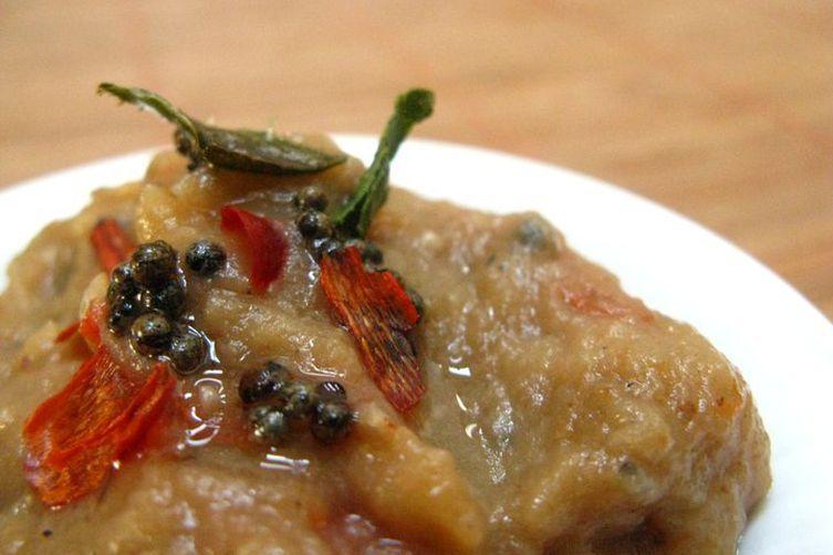 Grilled Eggplant 'Gothsu' dip