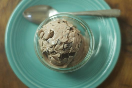 Raspberry Chocolate Chip Ice Cream