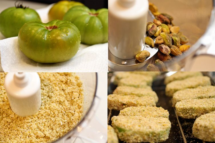 Exotic Fried Green Tomatoes