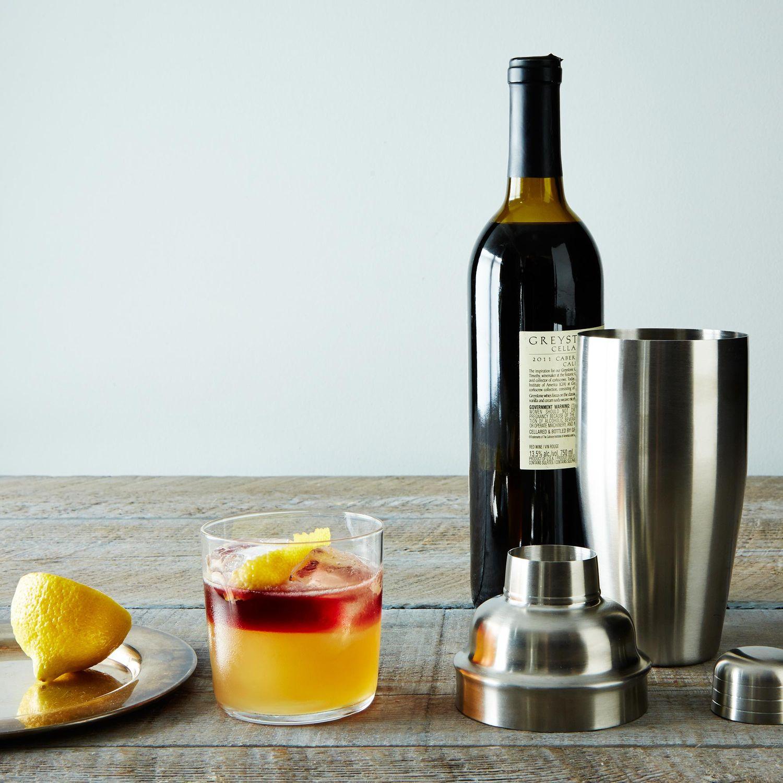Stainless steel cocktail shaker on food52 for Food52 lemon bar