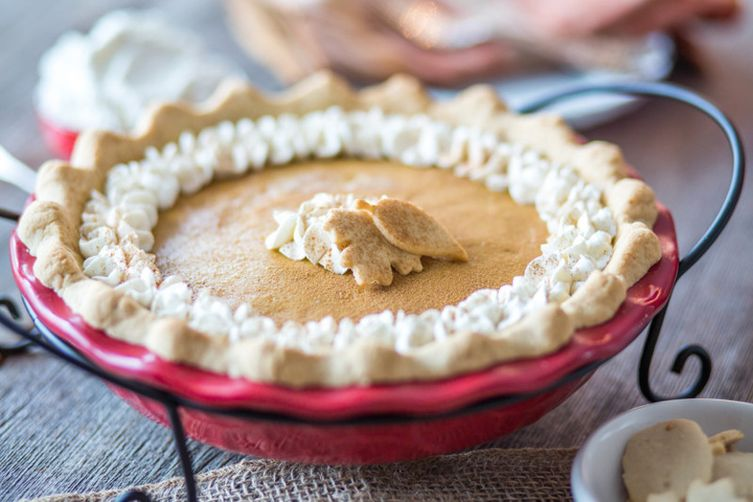 Paleo Pumpkin Chiffon Pie