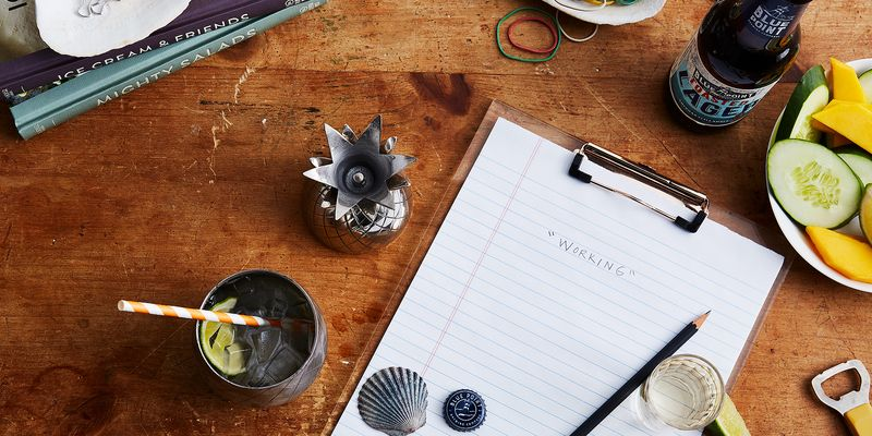 Summer-inspired desk decor to happy hour