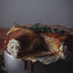 Dulce de Leche and Vanilla Whipped Cream Crepe Cake