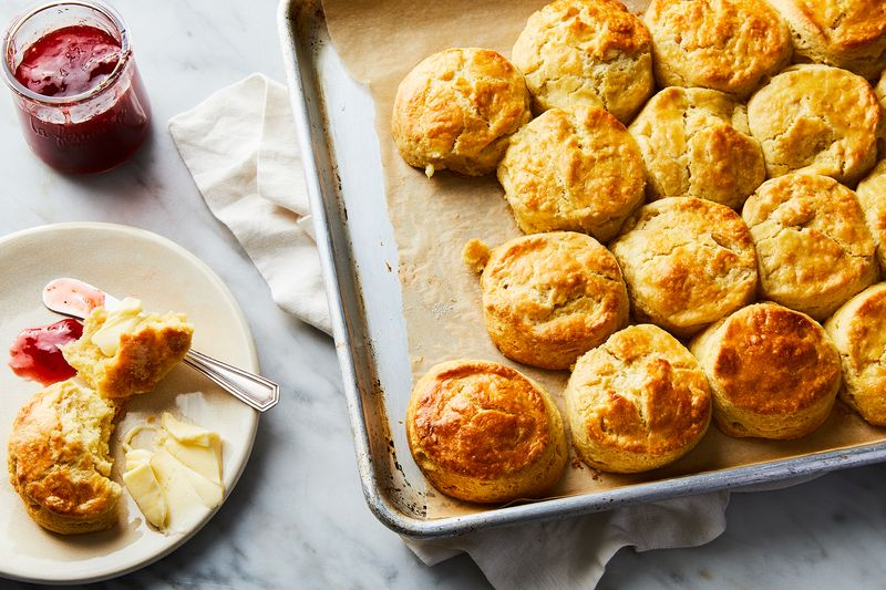 Buttery, flaky delights, cuddled up close!