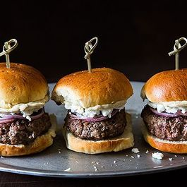 Burgers & Sliders by Mel