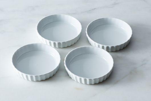 Patisserie Round Flan Dish (Set of 4)