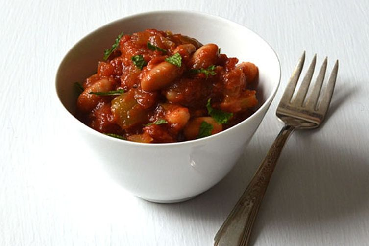 Greek Style Veggie & Bean Stew