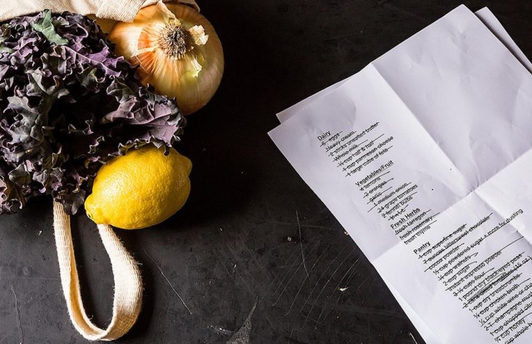 The Best Way to Organize Massive Holiday Grocery Lists