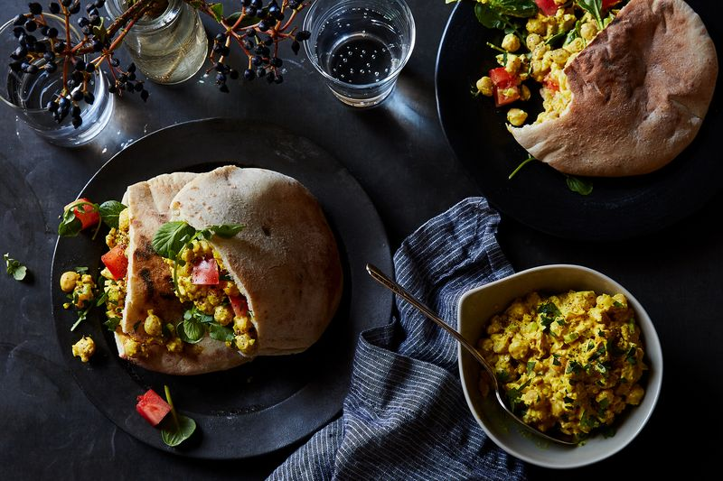 Curried Chickpea Sandwich