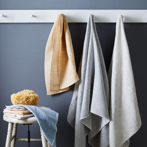Moku Linen & Cotton Japanese Bath Towels