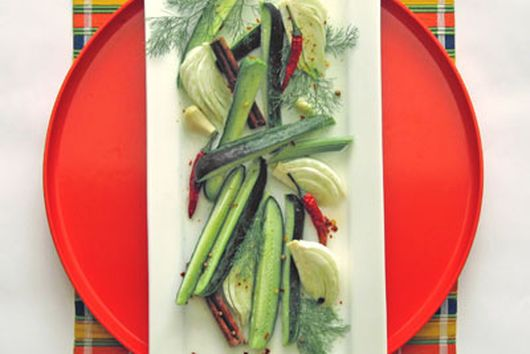 Cucumber and Fennel Meze