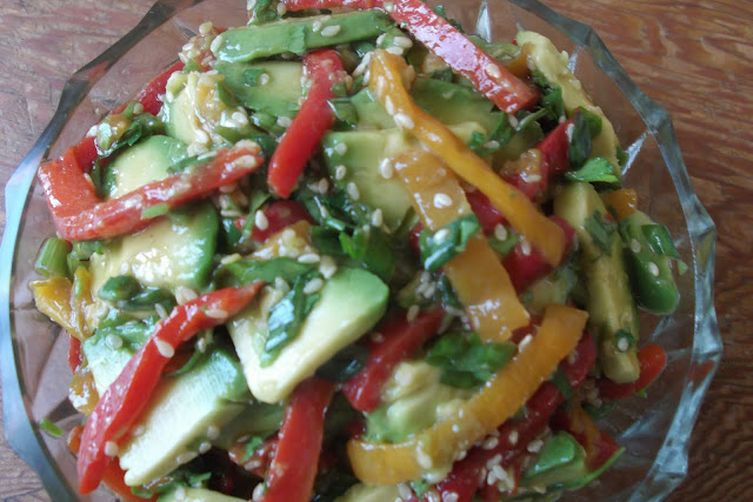 Avocado Sesame  Salad