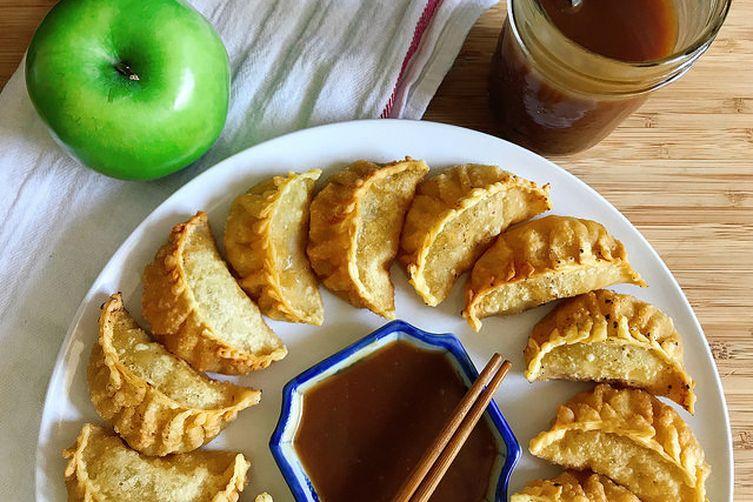 Deep Fried Apple Dumplings