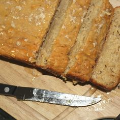 Apple and Oatmeal Bread with Vanilla Bourbon Glaze
