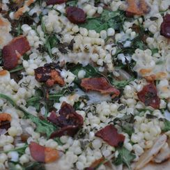 Corn Chowder Pizza