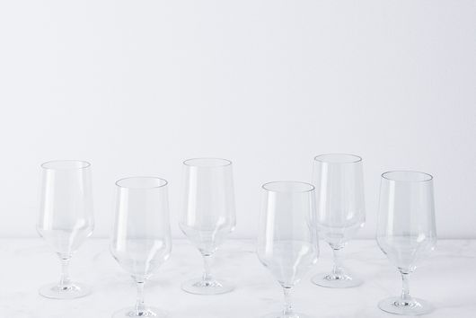 Shatterproof Tritan Wine & Cocktail Glasses (Set of 6)