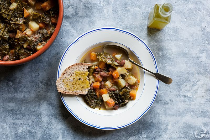 It's like minestrone, but...not.