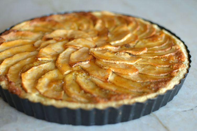 Apple Frangipane Cake