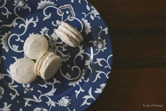 Nut-Free Earl Grey Macarons
