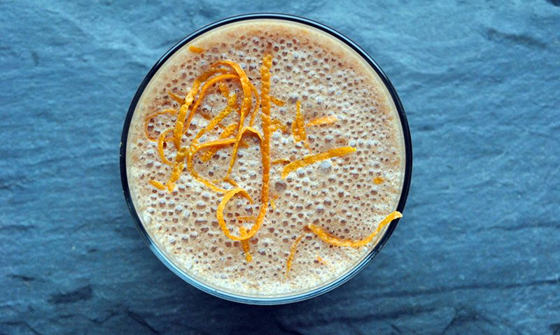Orange Chocolate Smoothie