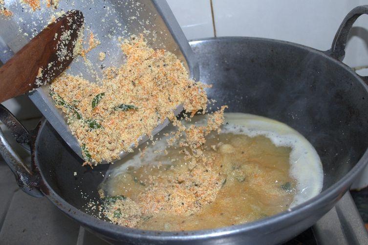 Carrot  Rava Upma