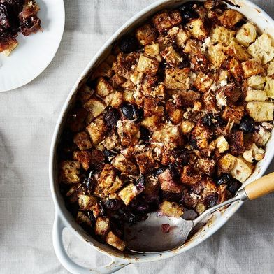 A Grape and Goat Cheese Stuffing Even Stuffing Haters will Love