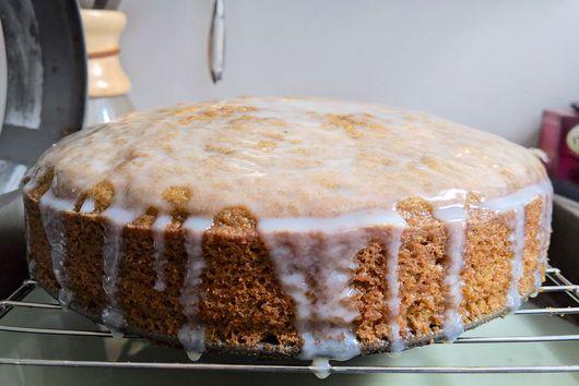 Matcha Olive Oil Cake