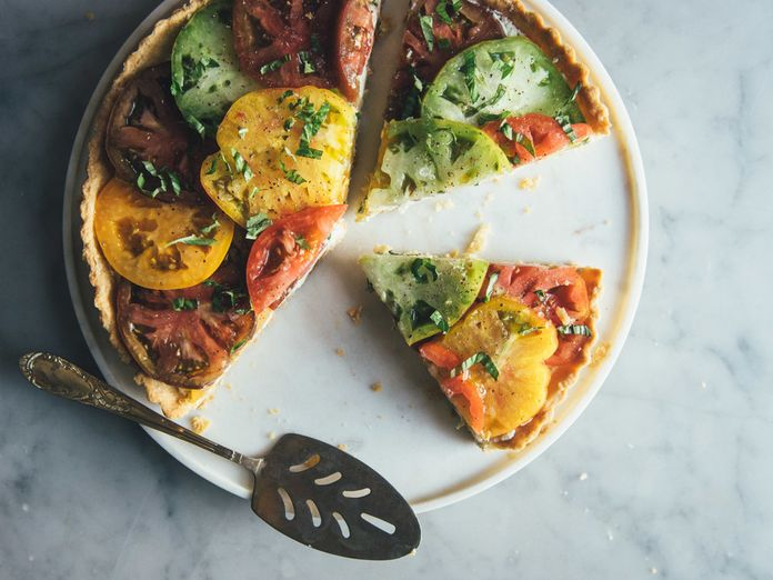 A Heat Wave-Thwarting Tomato Tart (& the Blogger Behind It)