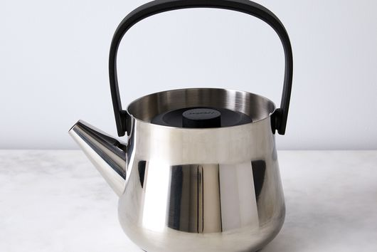 Stainless Steel Teapot with Removable Fine Mesh Strainer