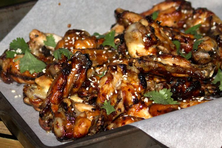 Korean BBQ Baked Wings