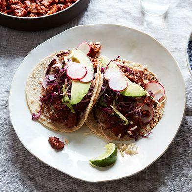 Chorizo-Style Seitan Tacos