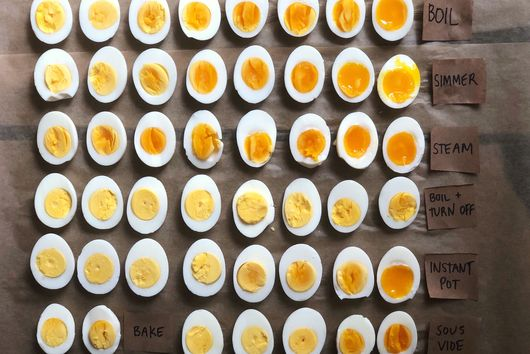 The Absolute Best Way to Boil Eggs, According to So Many Tests