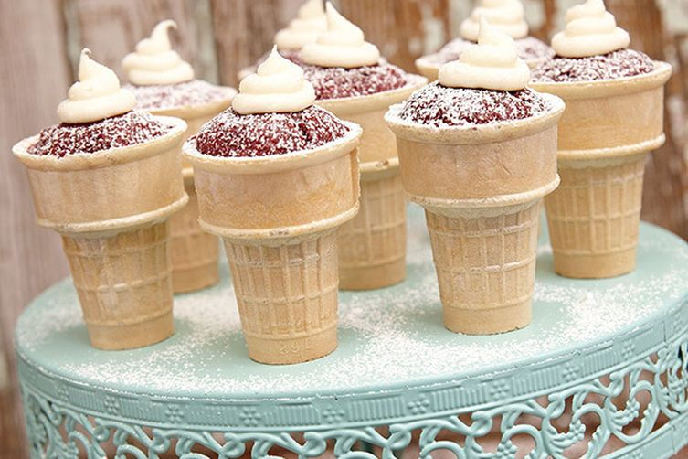Texas Pete® Red Velvet Cones