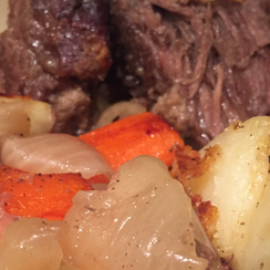 Sunday Pot Roast Supper