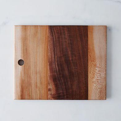 Rectangular Walnut and Sycamore Board