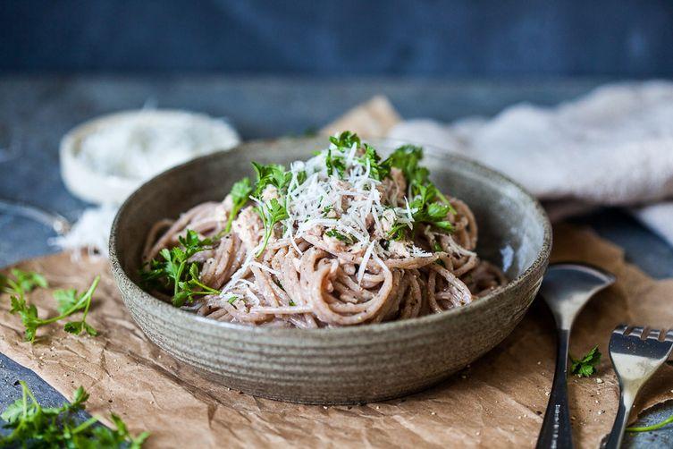 Whole Grain Spaghetti al Tonno