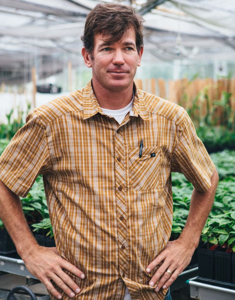 Farmer Jay Ruskey, of Good Land Organics.