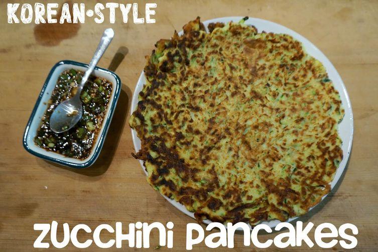Korean-Style Zucchini Pancakes Recipe on Food52  Korean-Style Zu...