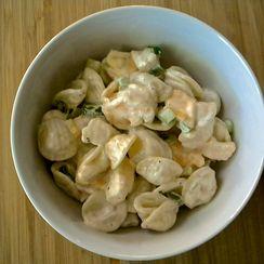 Mom's Macaroni and Shrimp Salad