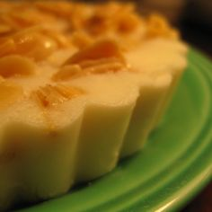 Honey Ricotta Gelato with Honeyed Almonds