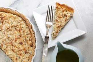 Aeb9fe73 c89c 4bca 9530 5fca401e39c8  corn goat cheese and basil tart 3298edit1