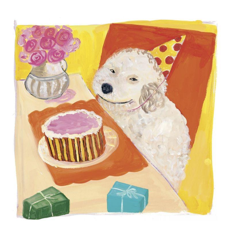 Dogs deserve cake too!