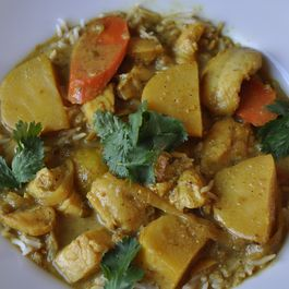 Tamarind Fish and Potato Curry