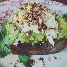 Jazzed Up Avocado Toast Without a Recipe