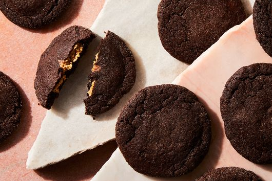 Chocolate Peanut Butter Cookies (aka Magic Middles)