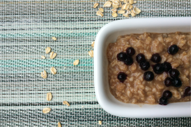 Weekend Banana Bread Oatmeal