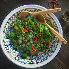 Stinging Nettle Salad