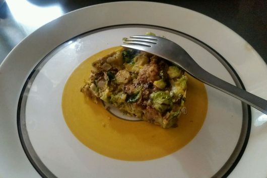 Brussel Sprout Frittata